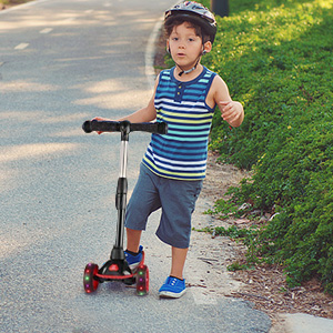 Amazon.com: Z ZANMAX - Patinete plegable para niños de 3 ...