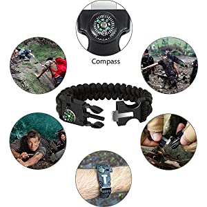 5-IN-1 Survival Bracelet