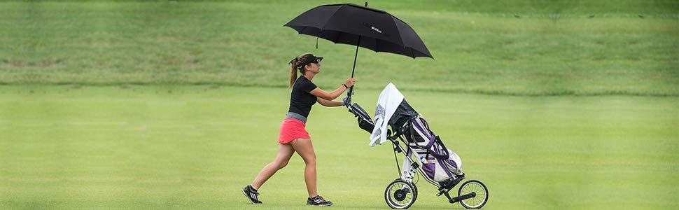 Heavy duty golf umbrella