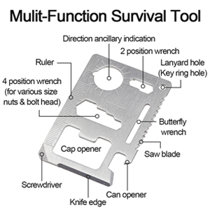 Wallet Sized Multitool