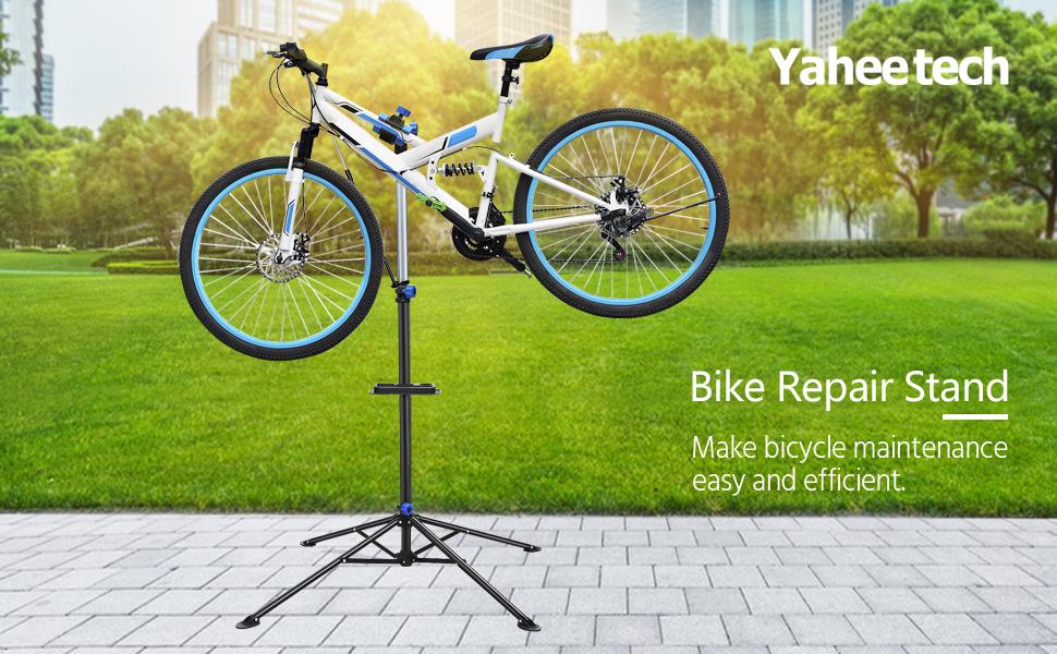 Adjustable Bicycle Maintenance Repair Stand Mechanic Workshop Workstand Rack