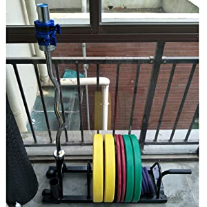 commercial gym plate rack