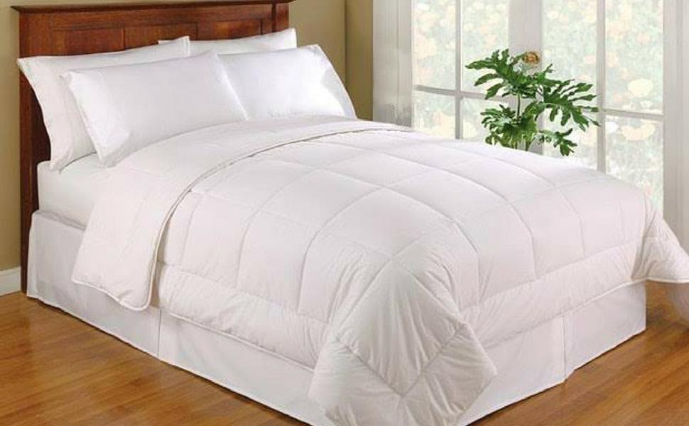 Amazon Com Organictextiles Wool Filled Bed Comforter