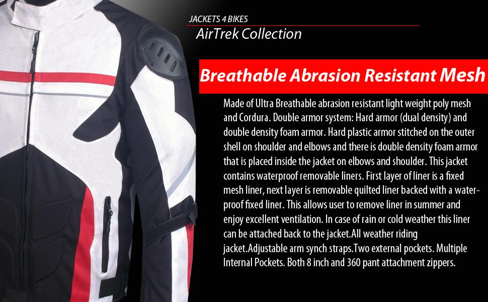 Amazon.com: AirTrek - Chaqueta impermeable de malla para ...