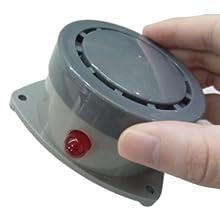 shackcom water leak detector alarm