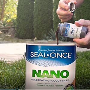 Seal Once Nano Poly Penetrating Wood Sealer With