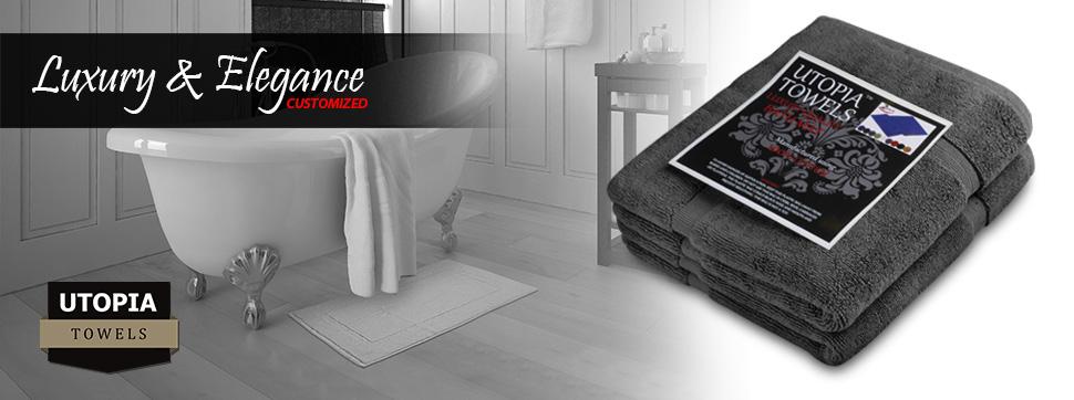 Amazon Com Utopia Towels 21 Inch By 34 Inch Washable