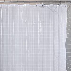 Manufactured To Fit Standard Sized Bathtubs It Can Be Used As A Stand Alone Shower Curtain Well Liner The Neutral Color Suits Any Decor Style