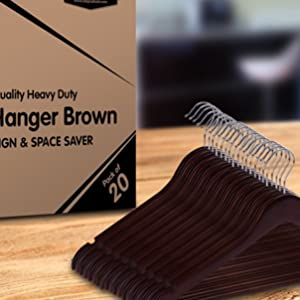 reasons to pick these natural wooden hangers