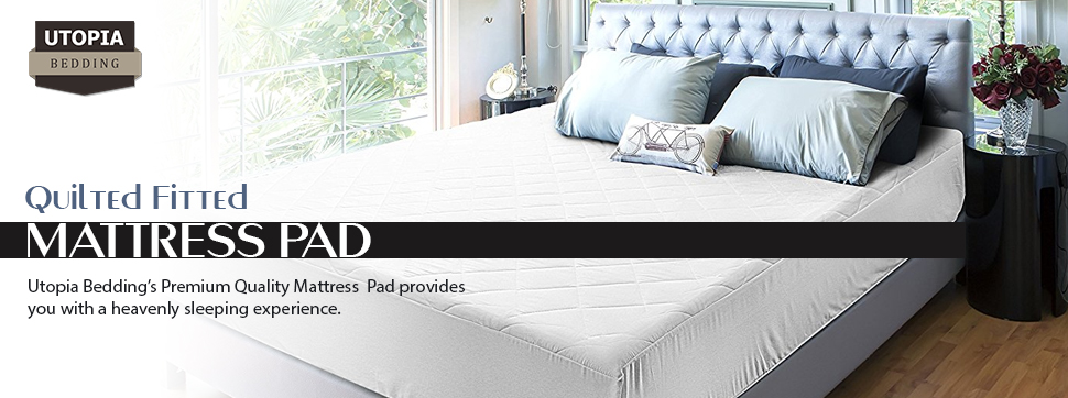 maximum softness and comfort utopia premium quality mattress pad
