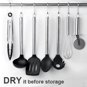 Dry it before storage