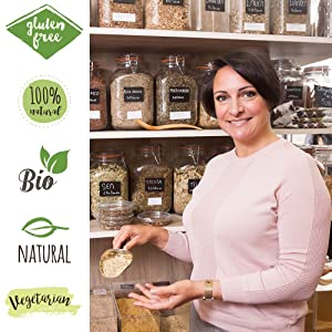 bio organic natural gluten free
