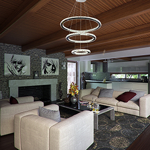 modern crystal chandelier lighting ceiling dining room living room rh amazon com modern living room lighting ideas modern living room lights