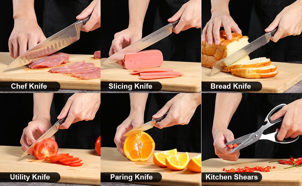 homgeek professional knife