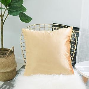 Amazon.com: Home Brilliant Funda de cojín decorativa ...
