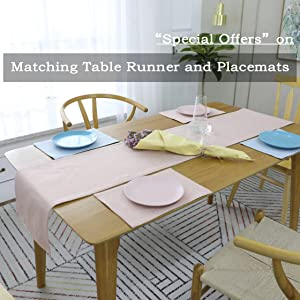 MATCHING TABLE SETTING