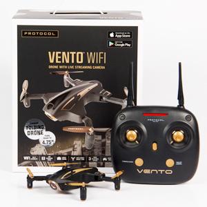 Protocol Vento WiFi Drone with Camera & Remote Control | Folding Arms for Easy Portability | Live Streaming Video Capability cIyVUZfbS5CJ