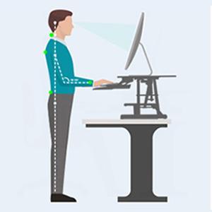 Amazon Com Kranich Standing Desk Converter Height Adjustable Sit To