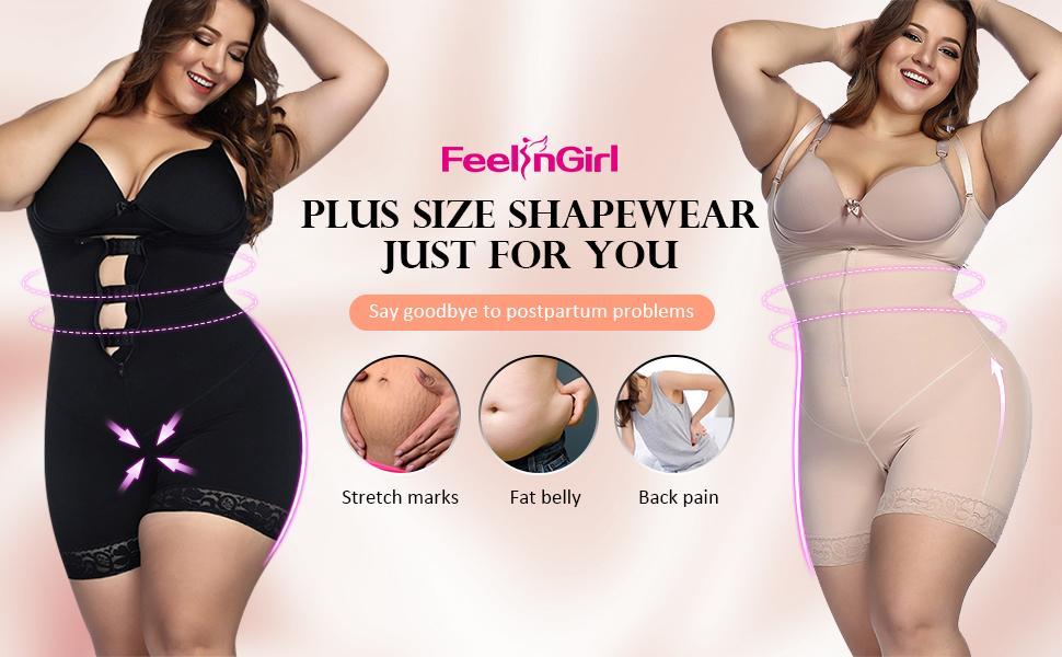 f04e0c83e83e3 ... High-Waist Thigh Slimmer Shorts Nude · Smooth High-Waist Thigh Slimmer  Shorts Black · Plus Size Firm Control Shapewear Open Bust Bodysuit Body  Shaper ...