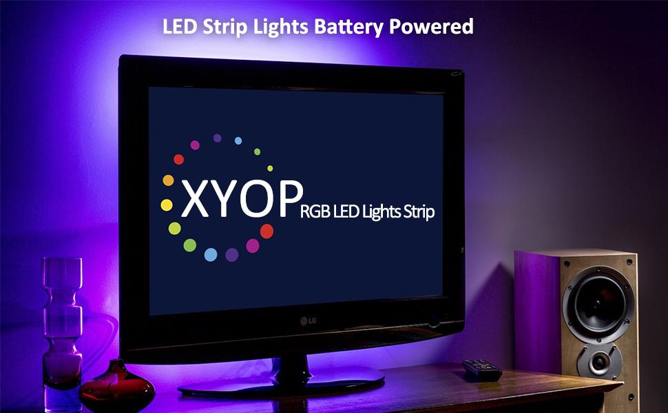 led strip lights battery powered