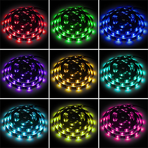 multi-colors led lights strip