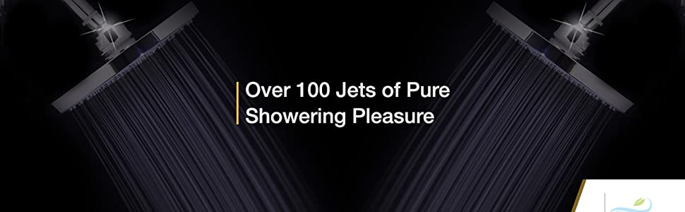 Hundreds of Jets of Pure Showering Pleasure