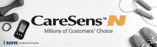 Amazon.com: CareSens N Blood Glucose Monitoring System