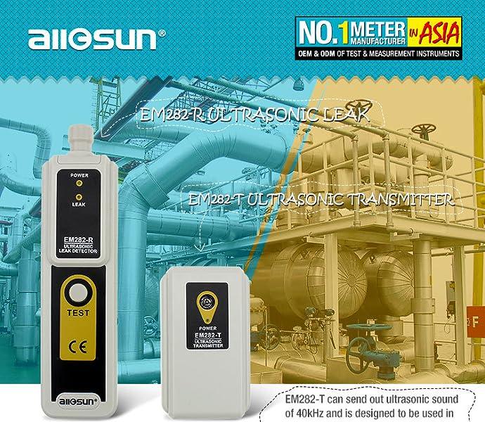Amazon.com: all-sun, kit con detector de fugas ultrasó ...