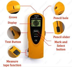 Allosun 4 In 1 Multi Detector Distance Meter Ac Wire