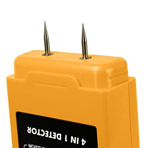 All- Sun TS69 is a multifunction device that can detect metal, stud, and AC voltage. Beside this device capable to measure moisture conten,it speciallly ...