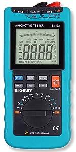 ALLOSUN Digital Automotive Multimeter 3 3//4-digit DMM EM132