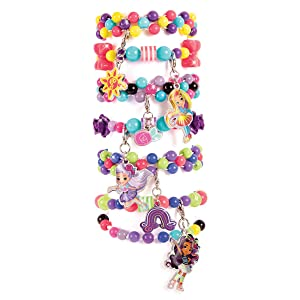 Sunny Day BFF Charm Bracelet Set DIY Beaded Charm Bracelet and Friendship Bracelet Making Kit for Girls Inspired by Nickelodeon/'s Sunny Day 4512MIR Make It Real