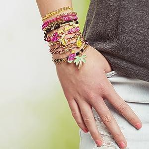 make it real juicy couture fruit obsessions charm bracelet kit diy kids girls girl tween