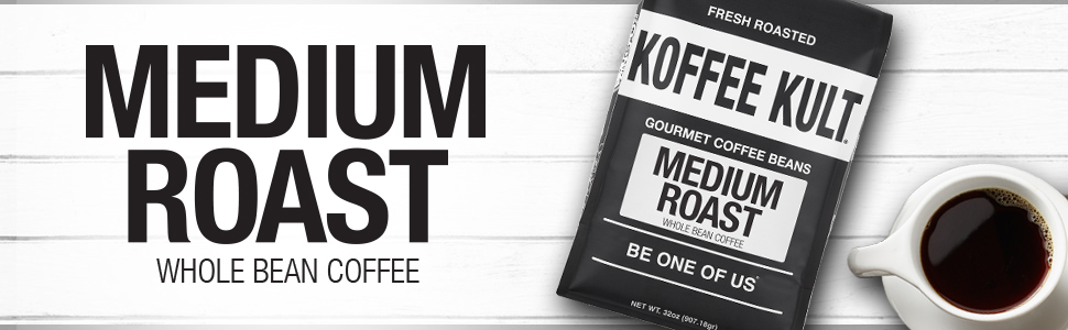Koffee Kult - Granos de café tostados medianos – Café ...
