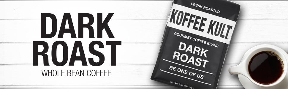 dark roast whole bean coffee koffee kult