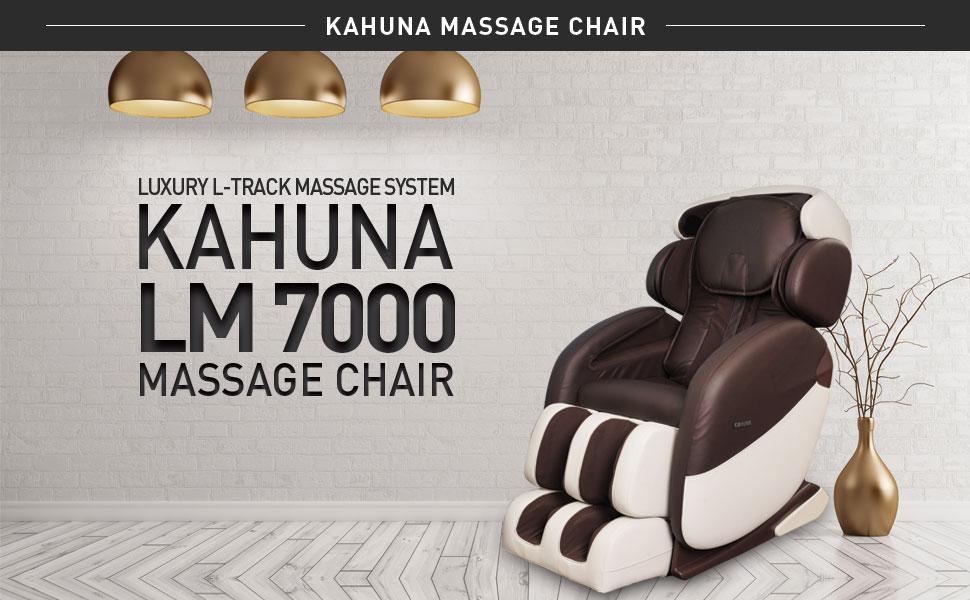 Amazon Com Kahuna Massage Chair Lm 7000 Brown Ivory Standard 258