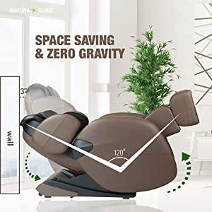 along with the ergonomic structural design of the chair to provide the best massage lm6800 is also designed to fit well anywhere in your home - Zero Gravity Massage Chair