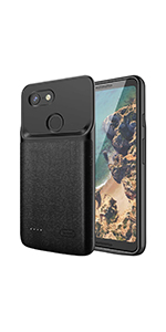 the latest 78dab 92d27 Amazon.com: NEWDERY Google Pixel 3 Battery Case, 4700mAh Slim ...