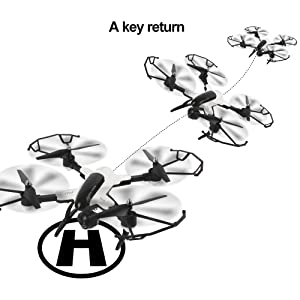 amazon dazhong foldable drone with camera live video 1080p hd  the drone controller es with a 360 rolls it can be continuous roll for perfect action with the headless mode you can fly the drone without knowing the