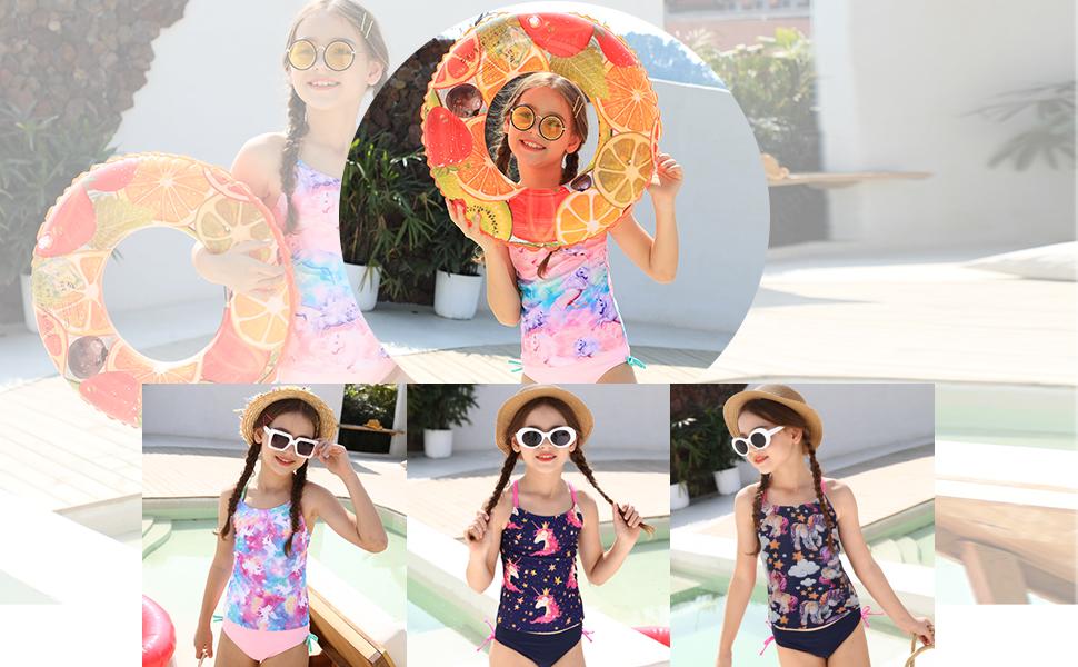 2019 Latest Design New 2019 Girls Swimwear Unicorn One Piece Childrens Swimwear Printed Swimming Suits Unicorn Girl Swimsuits High Quality Exquisite Craftsmanship; Home