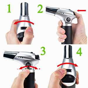 small butane micro torch,bar torch,art torch,grill torch,dab torches for wax