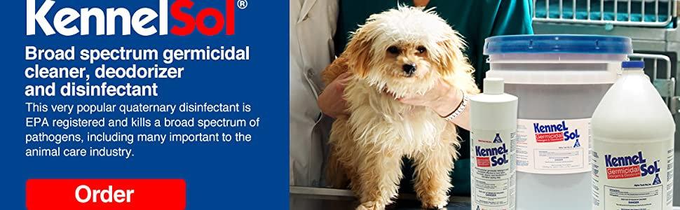 Alpha Tech Pet Kennelsol Germicidal Cleaner & Disinfectant (One gallon)