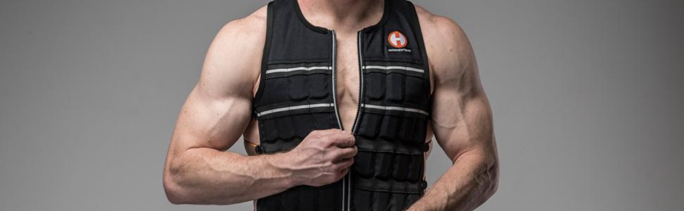 Hyperwear Hyper Vest ELITE unisex weight vest