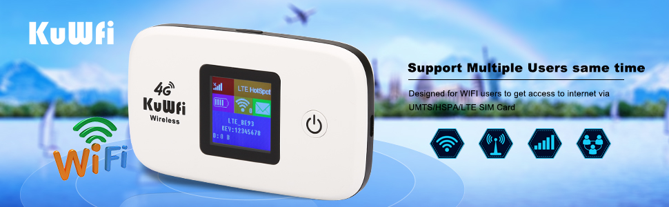 4G mobile lte  router