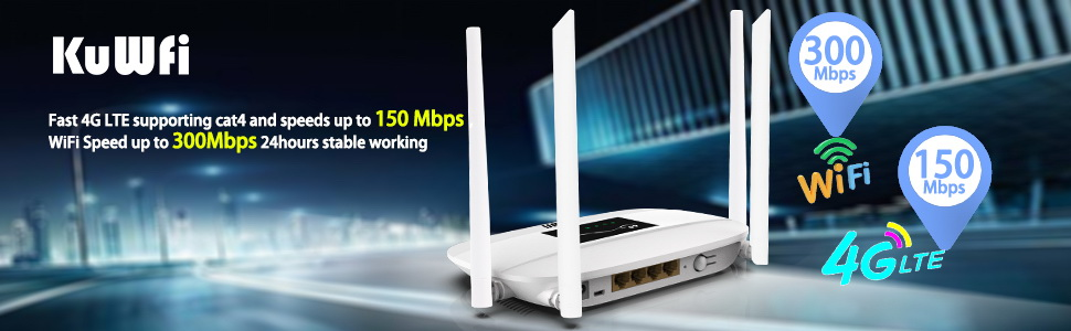 4G lte cpe router
