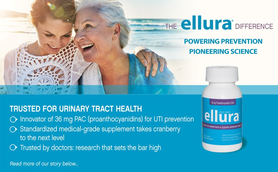 ellura for UTI prevention 36 mg PAC from cranberry