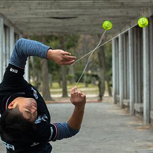 yomega raider spinner yoyo r esponisve transaxle looping bearing fidget stress relief  professional