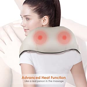 Shiatsu Neck, Shoulder, and Back Massager
