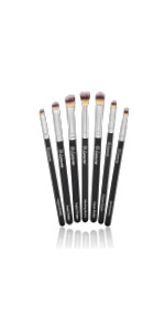 lamora, beauty, makeup, brush, kabuki, flat, foundation, concealer, luxury, soft, dense, black