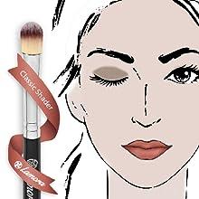 lamora, beauty, makeup, brush, brushes, eye, blending, set, eyeshadow, blend, blender, soft